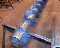 Asphalt Plant Screw Conveyor.